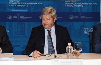 Fernando Burgaz subraya la apuesta del Gobierno por la internacionalización del sector agroalimentario y el apoyo a la promoción. Foto: Ministerio de Agricultura, Alimentación y Medio Ambiente