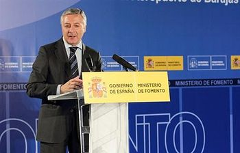 José Blanco. Foto: Ministerio de Fomento.