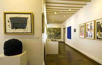 Imagen del interior del Museo Fundación Antonio Pérez en Cuenca.