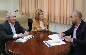 Cospedal con el secretario nacional de Relaciones Institucionales de la Confederación de Seguridad Local (CSL)