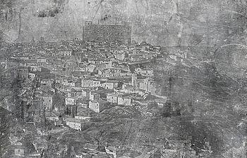 Daguerrotipo de Toledo (aprox. 1945-1850). Colección Soraia Molina-Jose Valderrey.