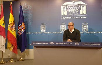 Lucas Castillo,  diputado de Deportes.