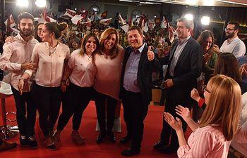 Acto de la campaña de Susana Díaz en Toledo.