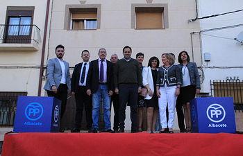 Núñez presenta a José Nemesio Tello como candidato a la alcaldía de Ossa de Montiel