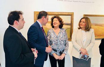 Marta Segarra asiste a la inauguración en la Casa Zavala de la exposición 'Sorolla. Tierra adentro'