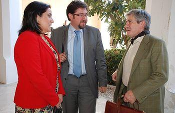 Enrique Barón, en la UCLM