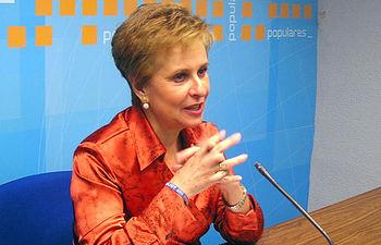 Carmen Quintanilla, diputada nacional del PP