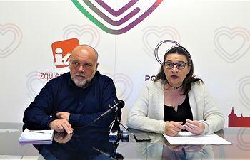 Concejales IU-Podemos Toledo.