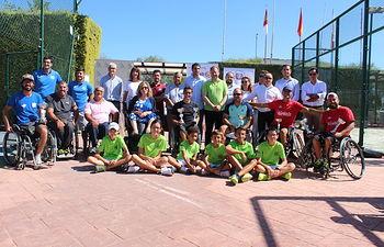 XI Torneo de Tenis en Silla de Ruedas.