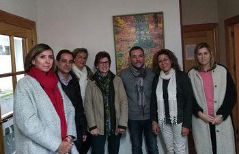 Visita a la casa de acogida de AFANION en Albacete