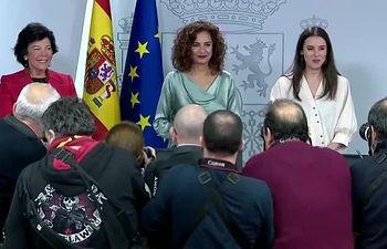 Rueda de prensa tras el Consejo de Ministros. 17-01-2020