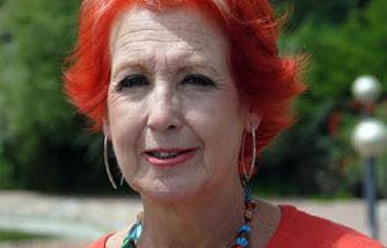 Rosa María Calaf, periodista.
