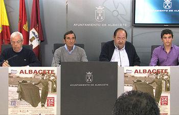 El concejal de Asuntos Taurinos, Rafael López Cabezuelo, durante la presentación del XXII Festival Taurino a beneficio del Cotolengo.