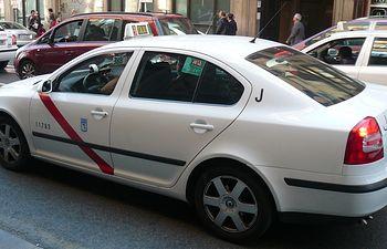 Taxi. Foto: Taxi Madrid.