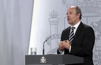 Juan Carlos Campo, ministro de Justicia. Foto: Pool Moncloa www.lamoncloa.gob.es
