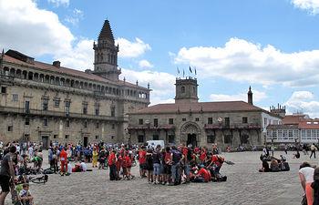 Plaza del Obradoiro - Santiago de Compostela. Foto: La Cerca