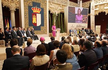 Mª Dolores Cospedal preside el acto institucional del Día de Castilla La Mancha. Foto: JCCM.