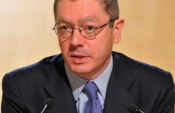 Alberto Ruiz Gallardón. Foto de archivo.