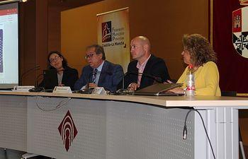 III Jornadas de Servicios Sociales e Inclusión Social, desarrolladas en el edificio polivalente del campus universitario de Albacete.