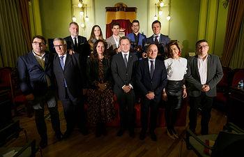 Entrega de los Trofeos Taurinos del Ayuntamiento de Albacete de la Feria 2019. Foto: Manuel Lozano García / La Cerca