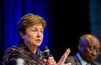 Kristalina Georgieva, directora gerente del FMI. Foto: Europa Press 2019
