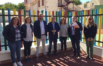 El Gobierno regional valora el papel de la escuela rural de Nerpio para extender la igualdad de oportunidades y fijar población