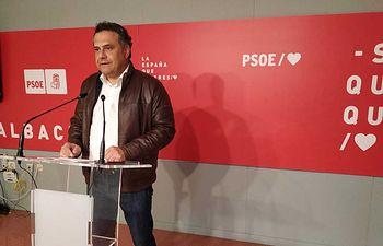 Manuel Miranda, senador socialista.