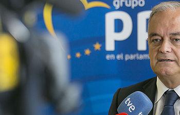 El Portavoz del PP en el Parlamento Europeo, Esteban González Pons.