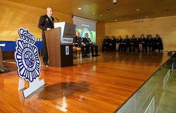 Celebración en Albacete del 196 aniversario de la fundación de la Policía Nacional. Foto: Manuel Lozano García / La Cerca