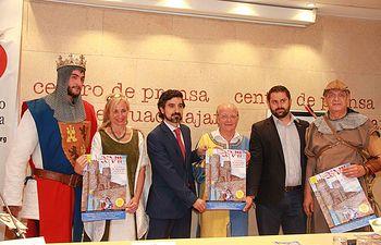 Presentacion de Jornadas las Medievales de Sigüenza