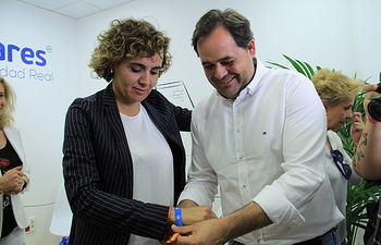 Dolors Montserrat y Paco Núñez en Ciudad Real.