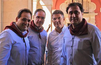 Paco Núñez participa en las Fiestas de San Mateo en Cuenca.