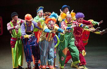 Payasos en un circo. Archivo.