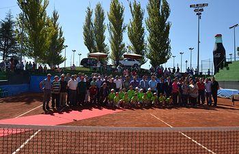 Entrega de premios del 35 Torneo Internacional de Tenis 'Ciudad de Albacete'.