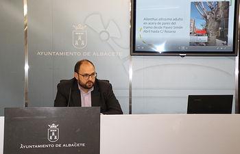 Julián Ramón, concejal de Sostenibilidad.