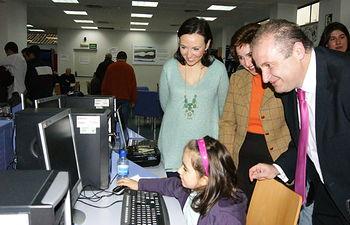 Luqui en las Jornadas sobre Seguridad en Tecnologías de la Información y la Comunicación para Familias III. Foto: JCCM.