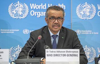 El director general de la Organización Mundial de la Salud (OMS), Tedros Adhanom Ghebreyesus. Foto: Europa Press 2020