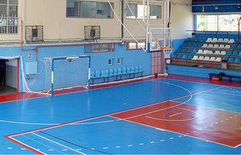 Imagen de archivo del interior del polideportivo de La Paz. Foto: Álvaro Díaz Villamil/ Ayuntamiento de Azuqueca de Henares