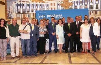 Congreso del PP que se ha celebrado en Valdepeñas