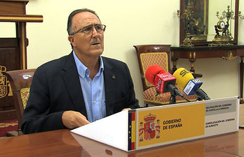 Federico Pozuelo, subdelegado del Gobierno en Albacete.