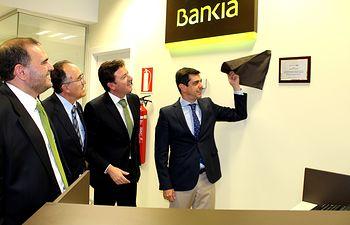 Inauguración de la nueva oficina ágil de Bankia en Albacete