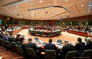 Reunión del Consejo de Ministros de Justicia y Asuntos de Interior de la Unión Europea (JAI). Foto: Ministerio del Interior