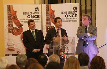 El presidente García-Page inaugura la XV Bienal de Música en Toledo. Foto: JCCM.