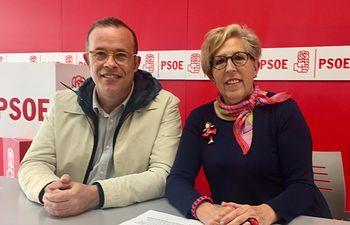 Pablo Sánchez y Maribel Sáez.