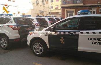 La Guardia Civil de Albacete incorpora 11 nuevos vehículos a su flota de automóviles