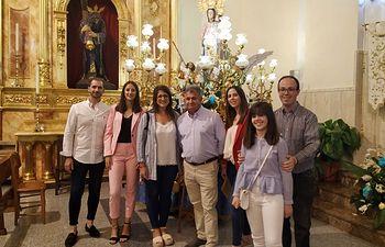 Ofrenda Flores Miguel Esteban.