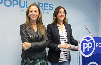 Marta González y Rosa Romero.