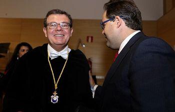 Paco Núñez durante la apertura del Curso Académico 2019-2020.