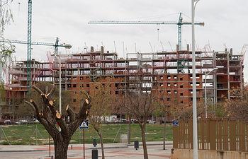 Obras en el barrio San Antonio Abad de Albacete