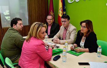 Reunión Contigo Somos Democracia - Fundación Secretariado Gitano.
